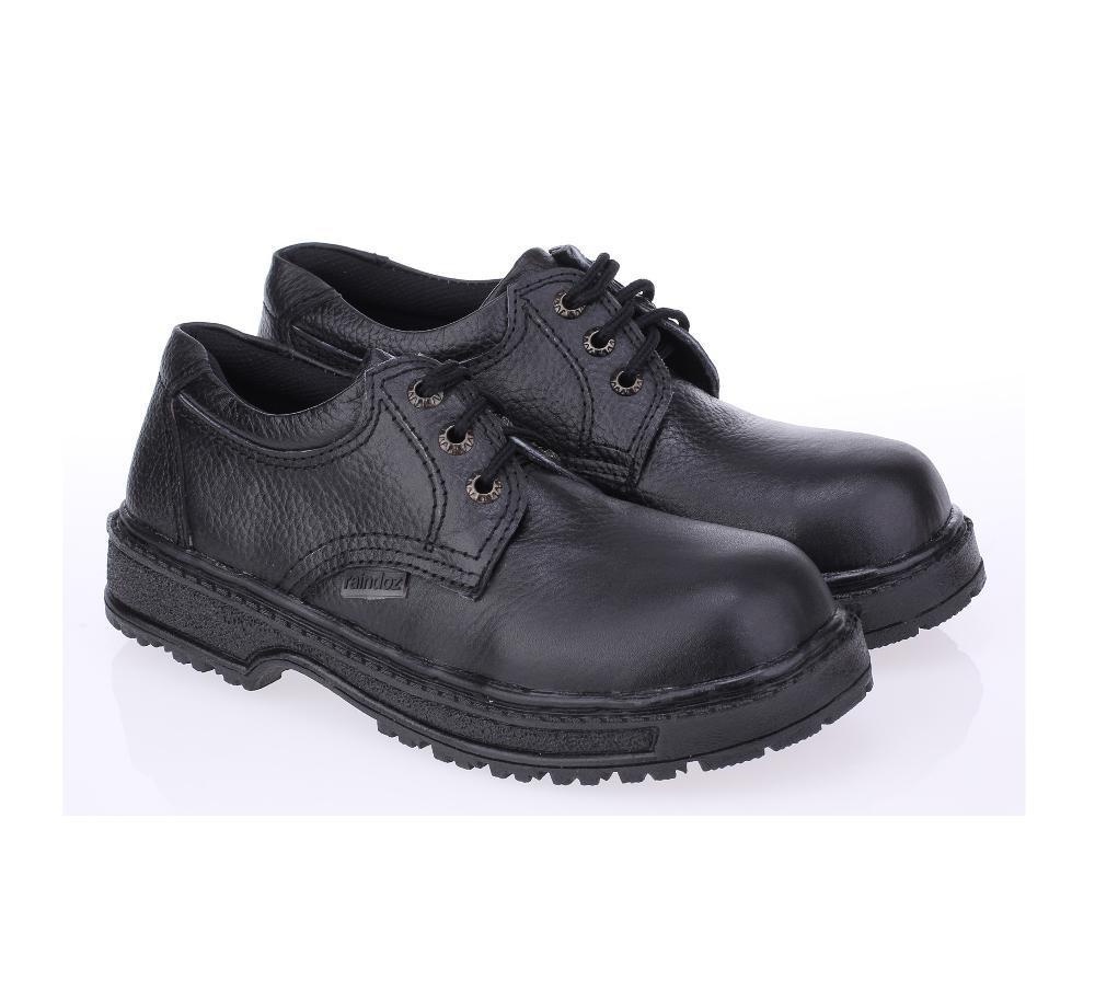 Promo sepatu safety low boot sepatu koky sepatu safety pendek sepatu kulit cibaduyut 001RLI Fashion
