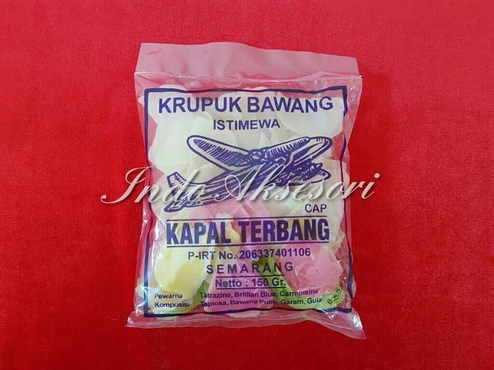 Krupuk Bawang Cap Kapal Terbang Semarang Istimewa Enak