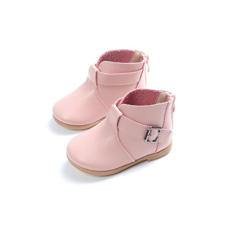 Sepatu anak-anak sepatu bot pendek 2018 Musim Semi dan Musim Gugur model  baru Anak 388c062b12