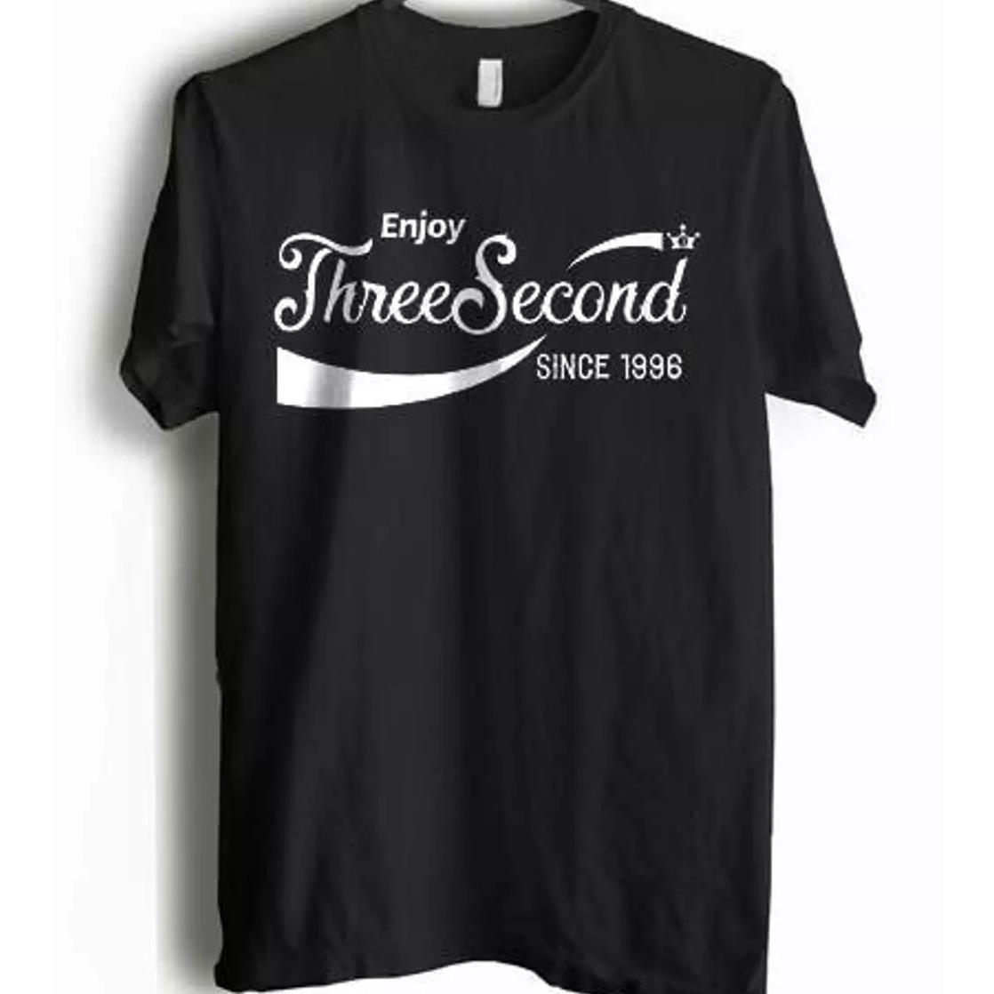 T-Shirt Kaos Pria 3Second