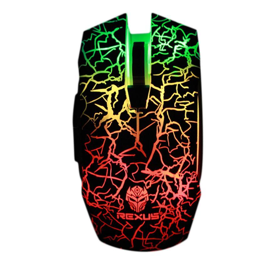 Rexus Titanix TX8 Macro Advanced Gaming Mouse Gamers - RXM-TX8 - BLACK
