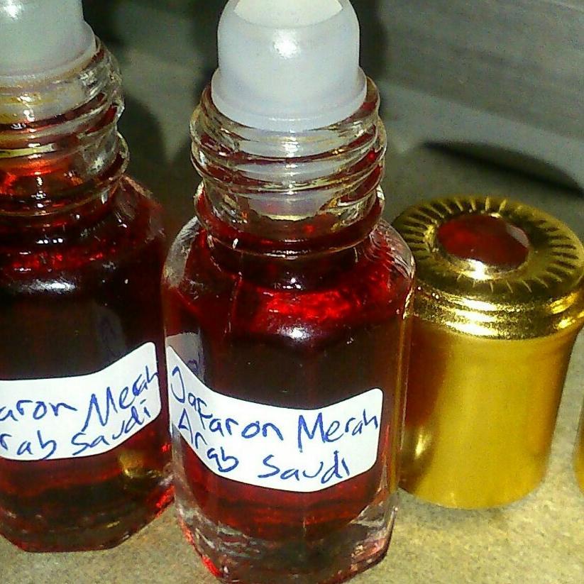 Beli minyak zafaron bonus minyak kasturi putih 12ml original