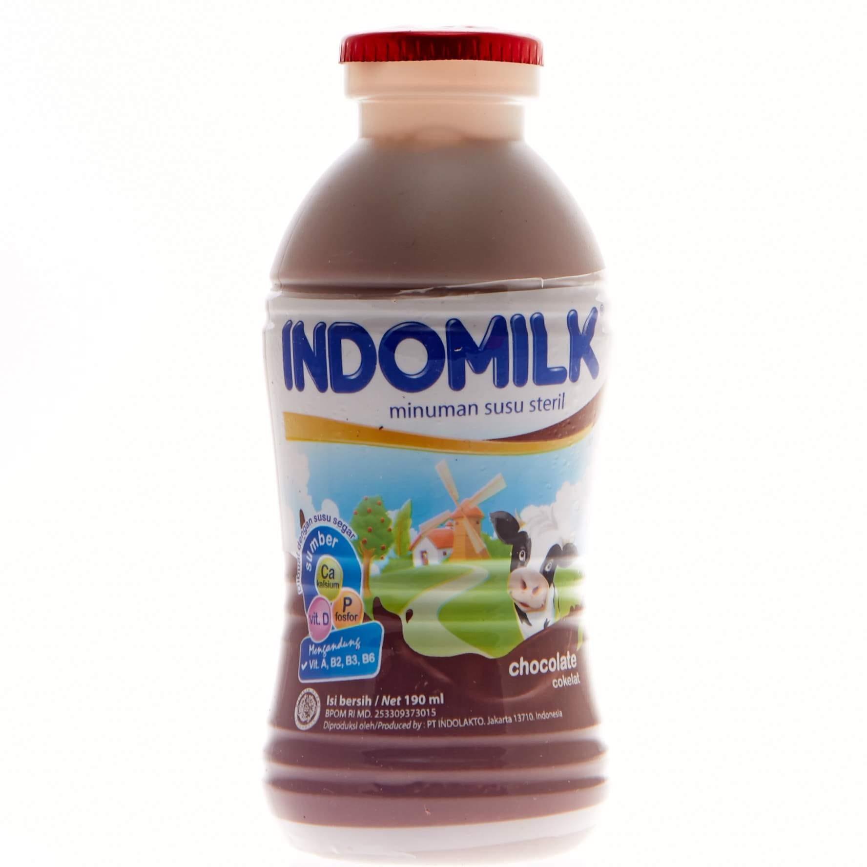 Buy Sell Cheapest Indomilk Susu Kental Best Quality Product Deals Big  Bubuk Perasa Minuman Segar Coklat 190ml Milkmart