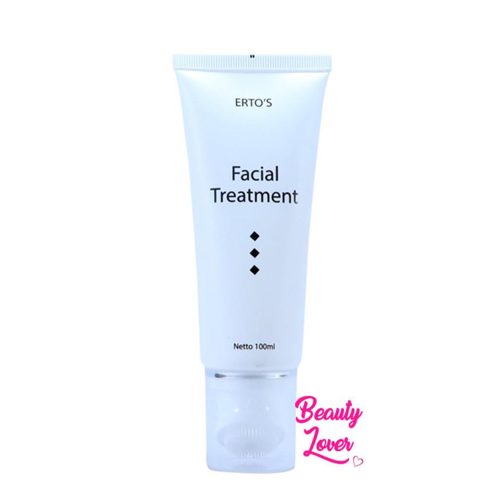 Ertos Facial Treatment Original Gel Dan Sikat Pembersih Wajah By Beauty Lover.