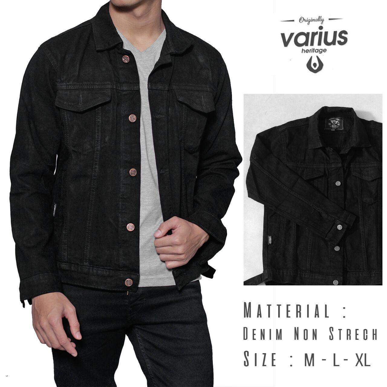 Jaket jeans original / jaket jeans premium / jaket jeans pria / jaket jeans / jaket