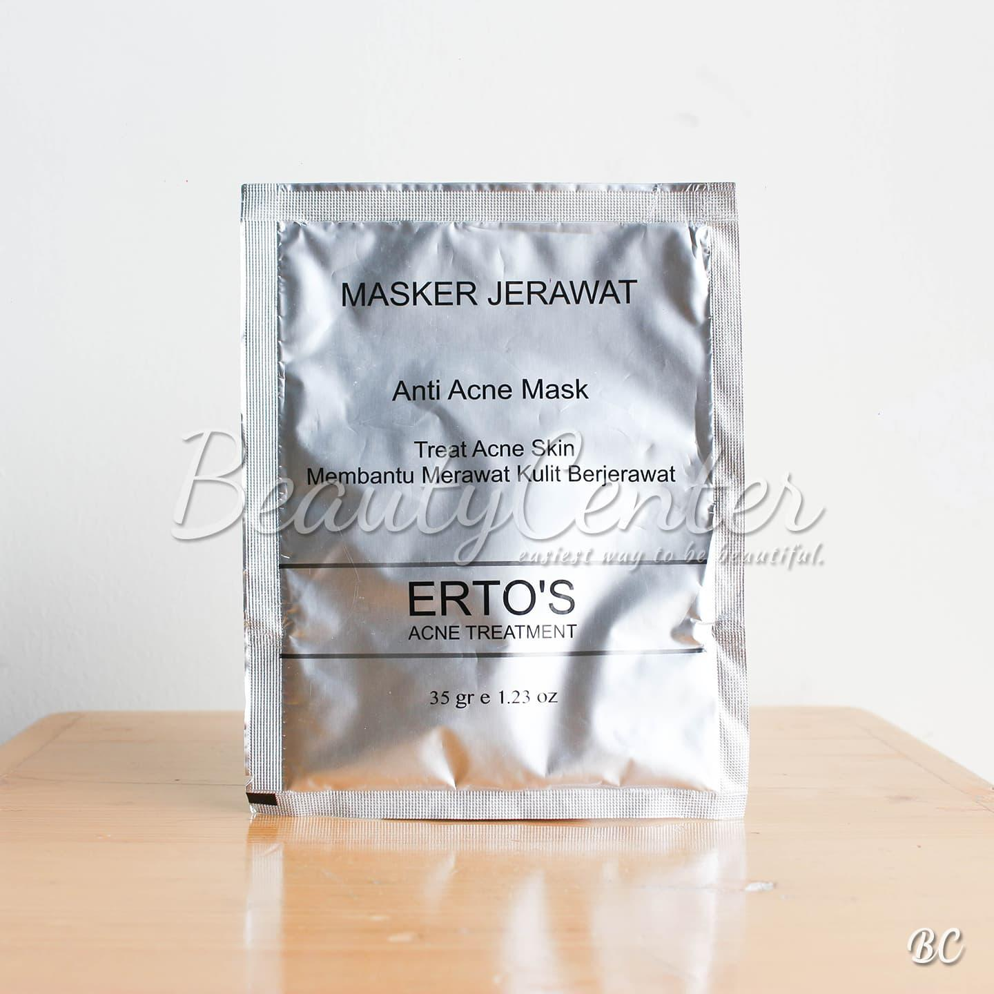 Buy Sell Cheapest Masker Jerawat Erto Best Quality Product Deals Ertos Anti Acne Mask By