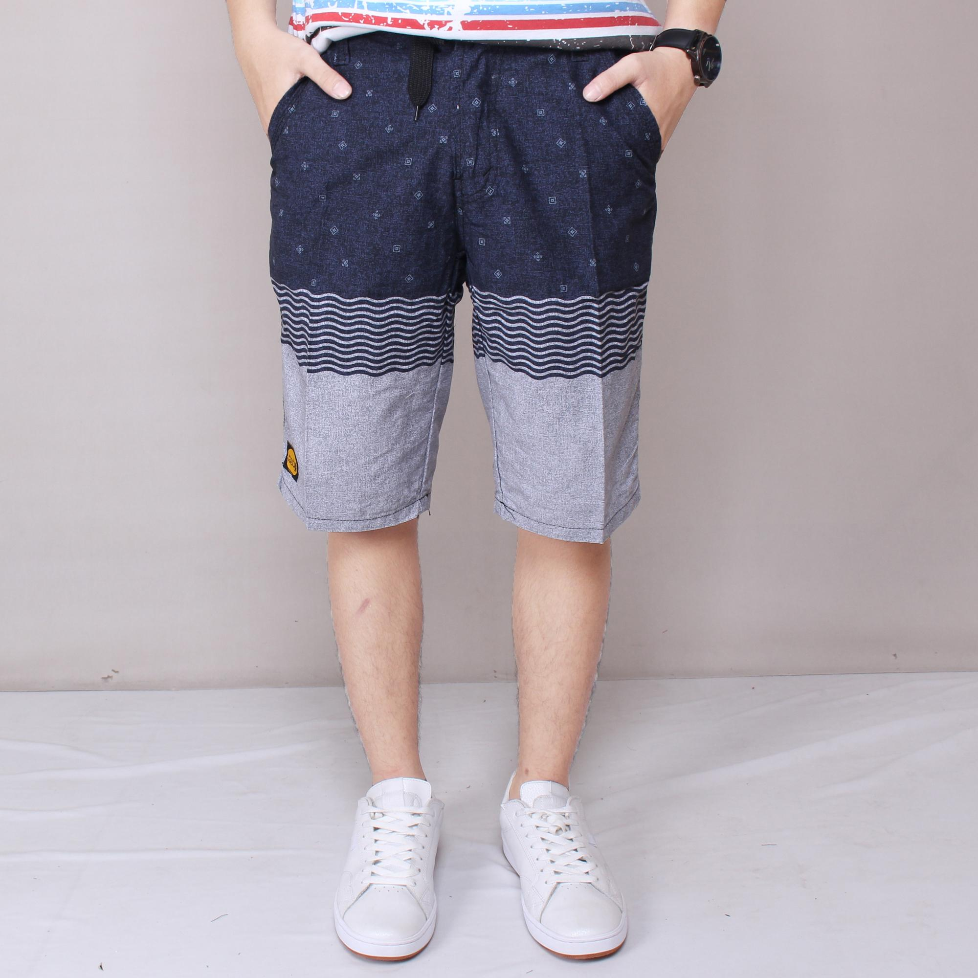 ZS_Fashion 5961 Celana Pendek Distro Celana Santai Motif Acak Celana Pendek Exclusive