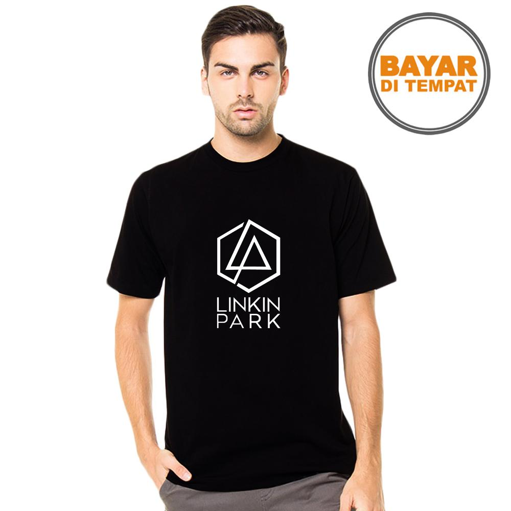 Buy Sell Cheapest Linkin Park Best Quality Product Deals Kaos Distro Pria Fashion T Shirt Cowok Musisi