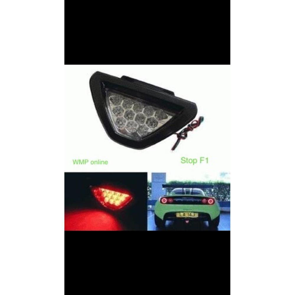 Lampu Stop Rem Belakang Model F1 Segitiga Biru WMP-0525-B