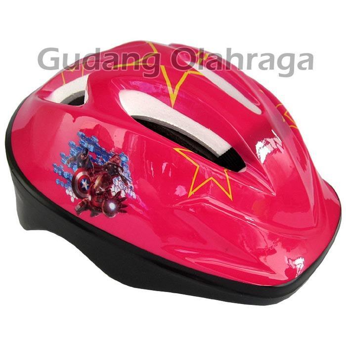 Helm Sepatu Roda Anak Karakter / Helm Sepeda Anak Baru