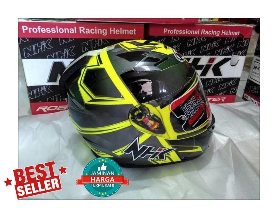 NEW Helm NHK RX9 RX 9 Hawk Yellow Flourecent