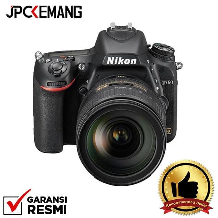 Nikon D750 Kit AF-S 24-120mm f/4G ED VR GARANSI RESMI
