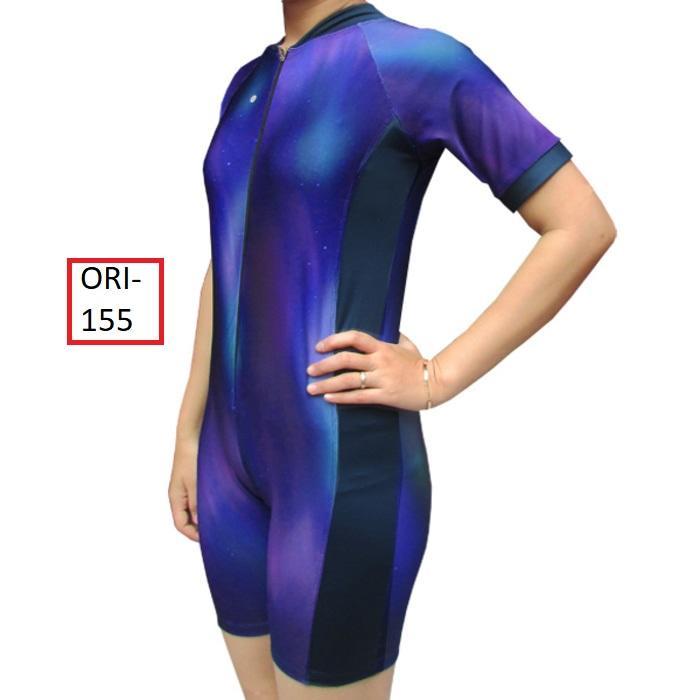 Baju Renang Diving Wanita Dewasa Murah Warna Biru Sky - 155
