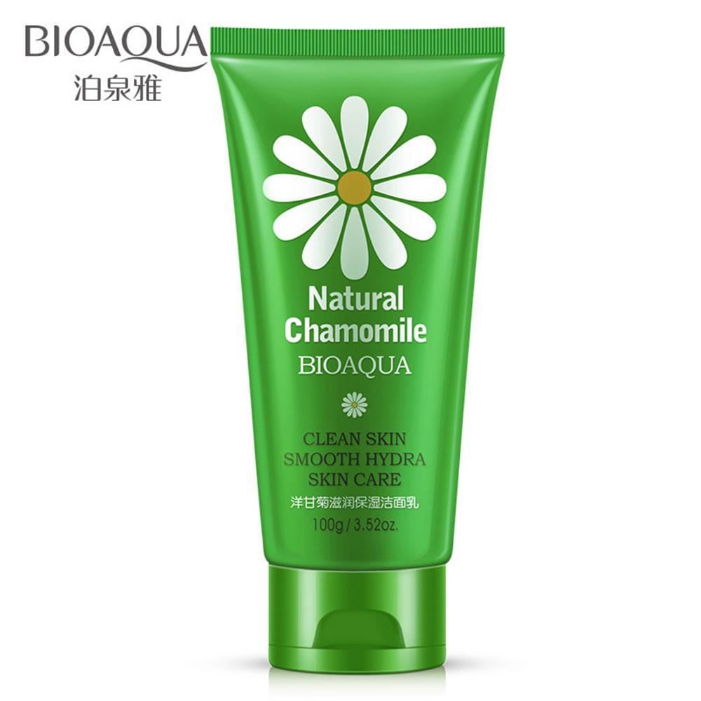 Buy Sell Cheapest Bioaqua 100g Natural Best Quality Product Deals V Shaped Pulling Moisturizing Mask 40g Chamomile Whitening Perawatan Jerawat Halus Deep Cleansing Facial Cleanser