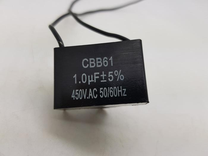 Kapasitor Kabel Kipas Angin 1 Mikro / Capasitor Kipas 1 uf