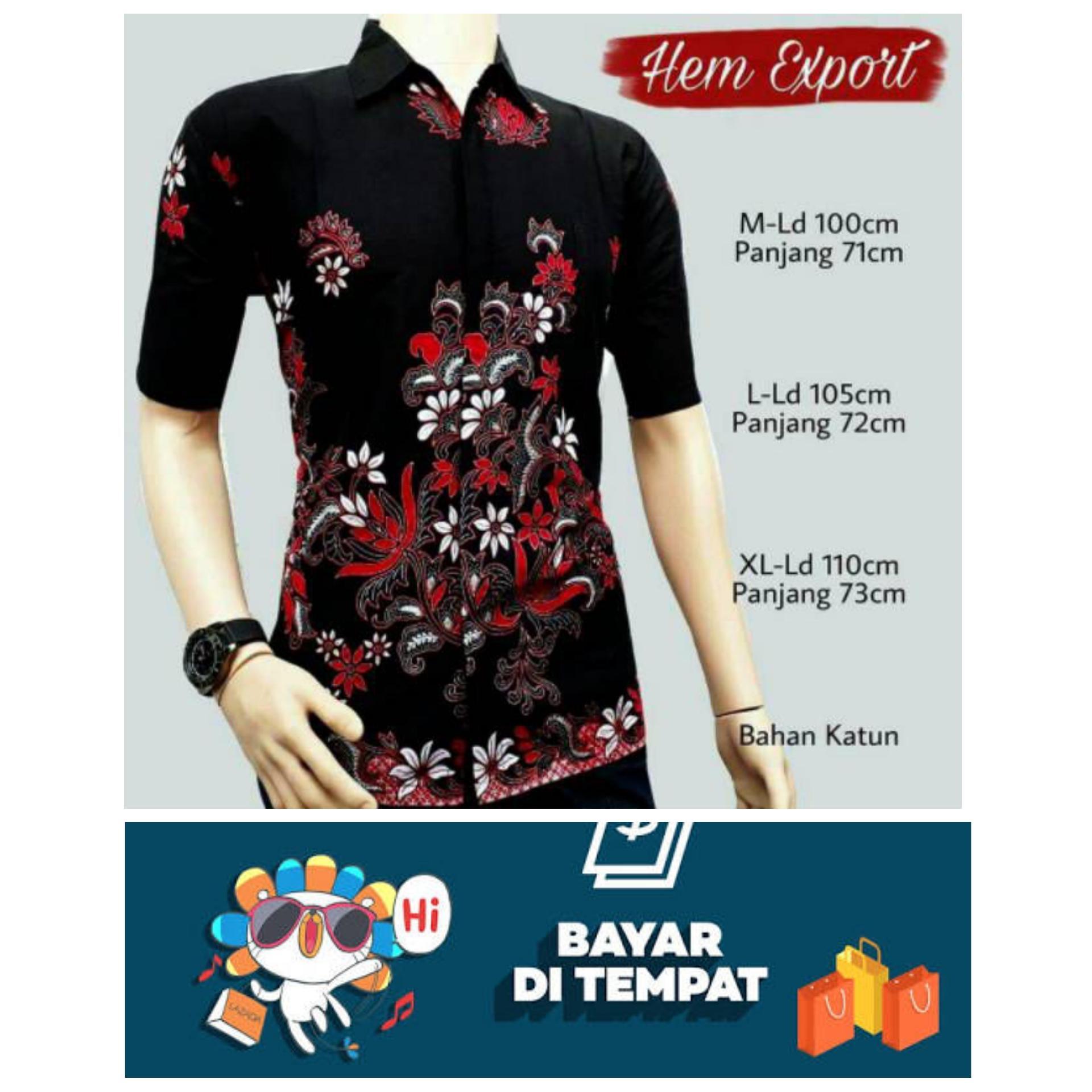 BATIK PRIA BATIK PEKALONGAN Kemeja Batik Eksklusif Baju Batik Modern Casual