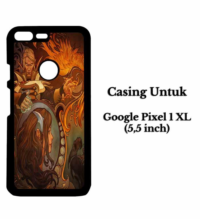 Casing HP GOOGLE PIXEL 1 XL dota 2 new bloom 2 Hardcase Custom Case Snitchshop