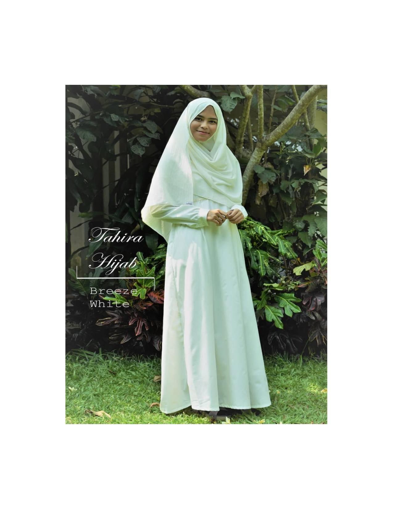 BAJU MUSLIM DRESS Gamis Putih Katun Ima Polos berfuring, untuk Ihram