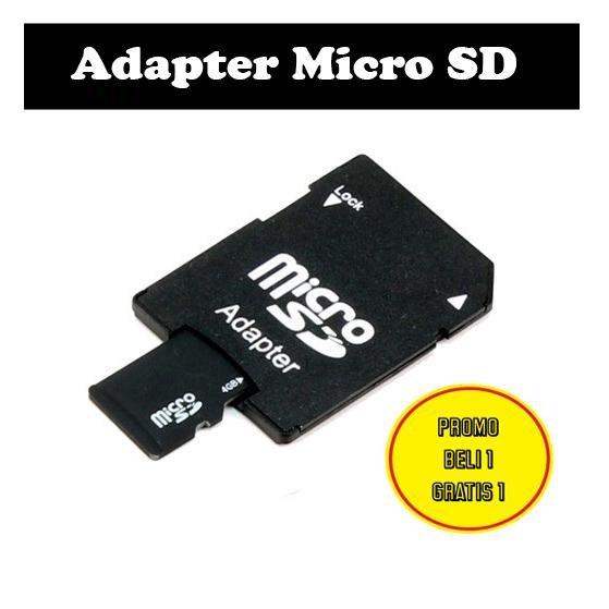 Beli1 Gratis 1 - Adapter Micro SD Card To SD CARD Adapter Converter MICROSD SDCARD Adapter