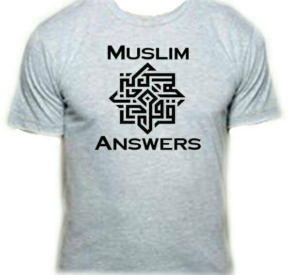 Grosir New Promo Kaos Tshirt Islam Muslim Answer By Shidqi Fashion.
