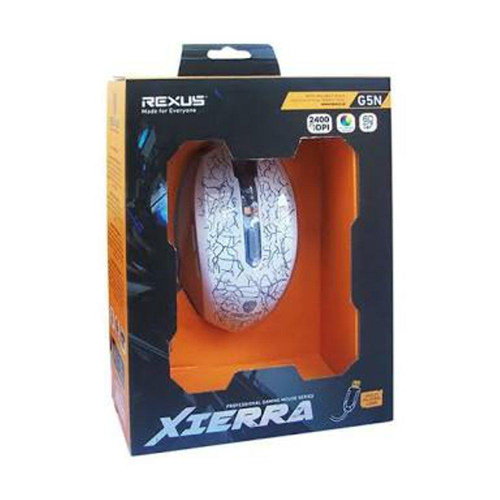 Rexus G5N Mouse Gaming Terbaru