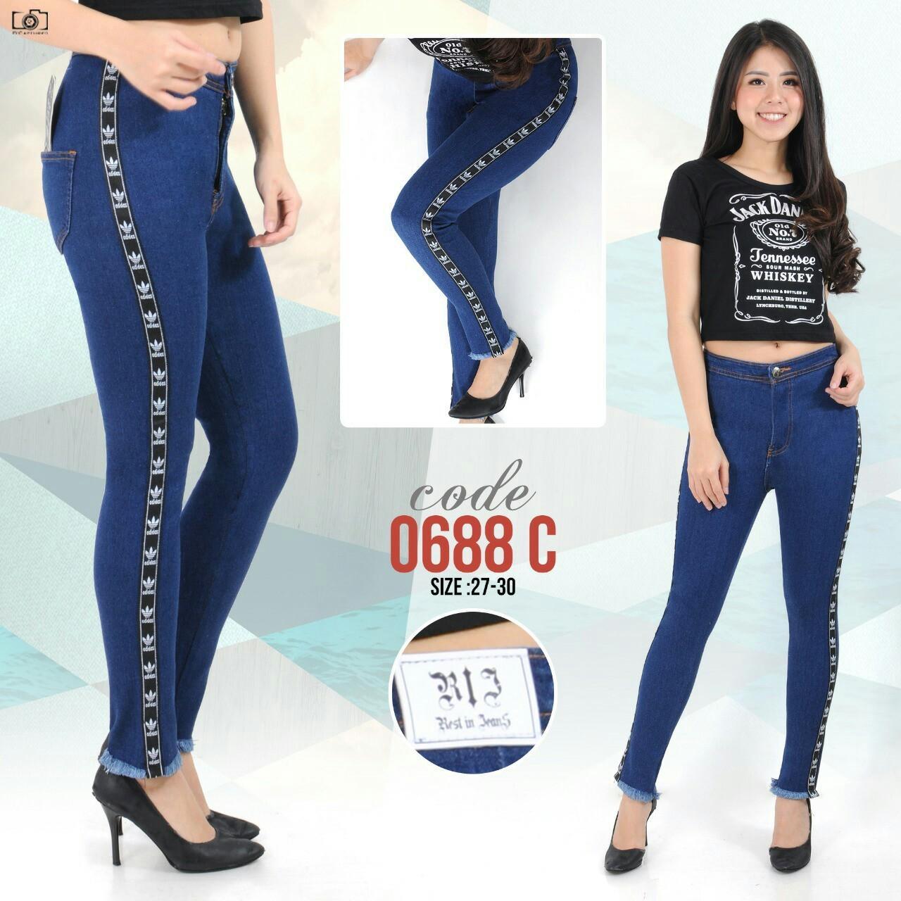 NM Jeans Blue 5 Ukuran 27-30 Celana Panjang Soft Jeans Wanita Elegant  Exclusive New 12f2b7c3c6