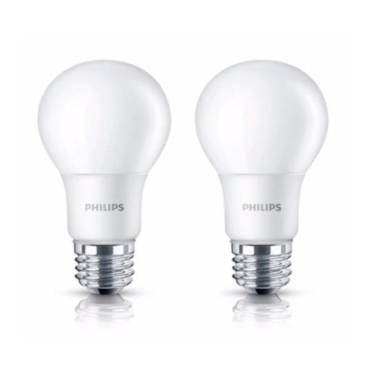 2 Buah Lampu Bohlam Bulb LED Philips 10.5W - Cool Day Light Putih - 10.5 Watt - (2 Pcs)