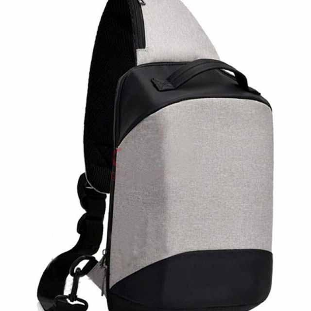 PROMO!!!....Tas Selempang Pria Anti Maling Messenger Crossbody Sling Bag Import With Non USB Charge
