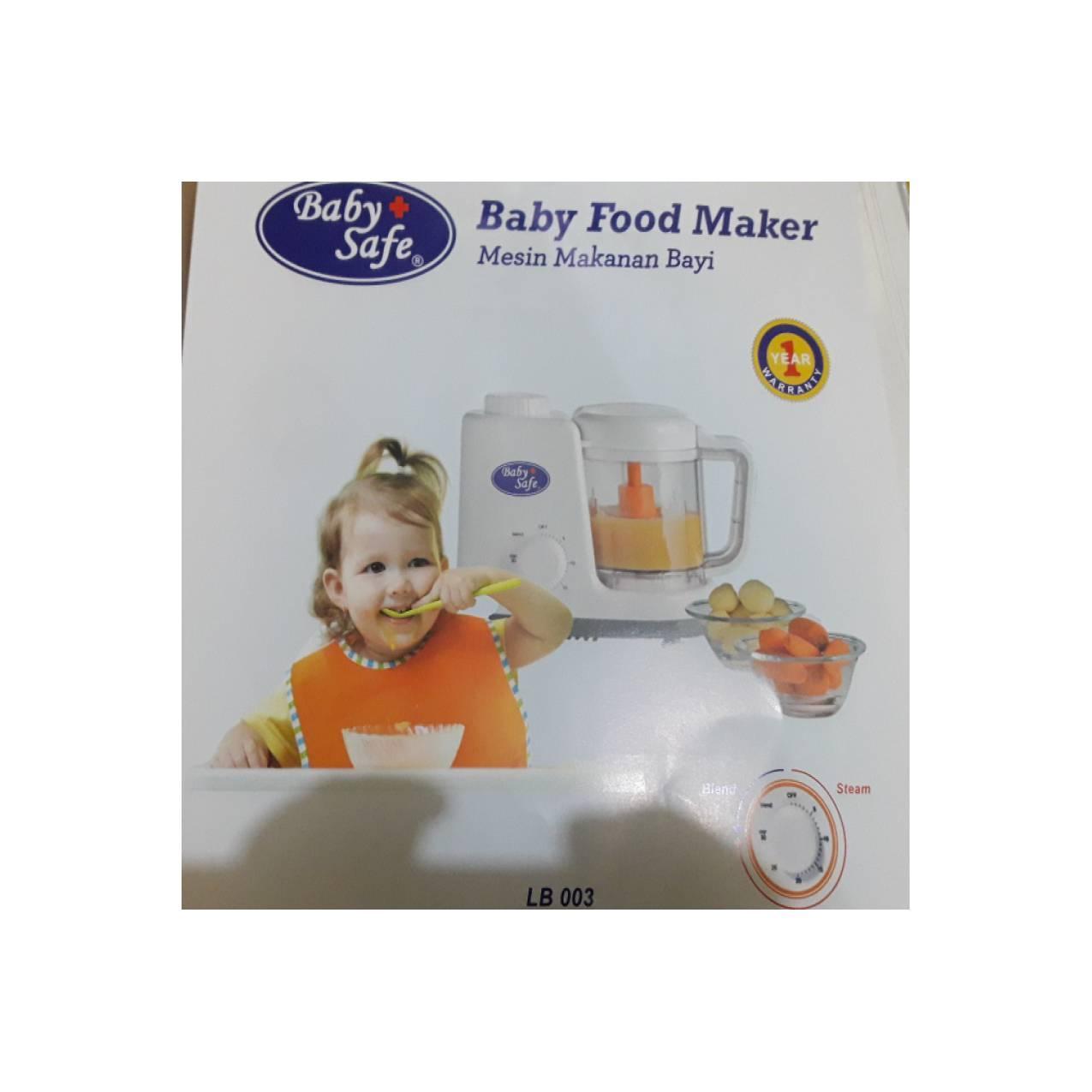 Buy Sell Cheapest Niko Blend N Best Quality Product Deals Baby Safe Food Maker Babysafe Steam Dan Blender