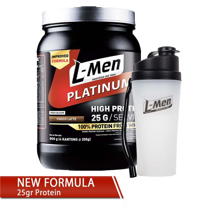 [free Tumbler] L-men Platinum 800gr (25gr Protein)