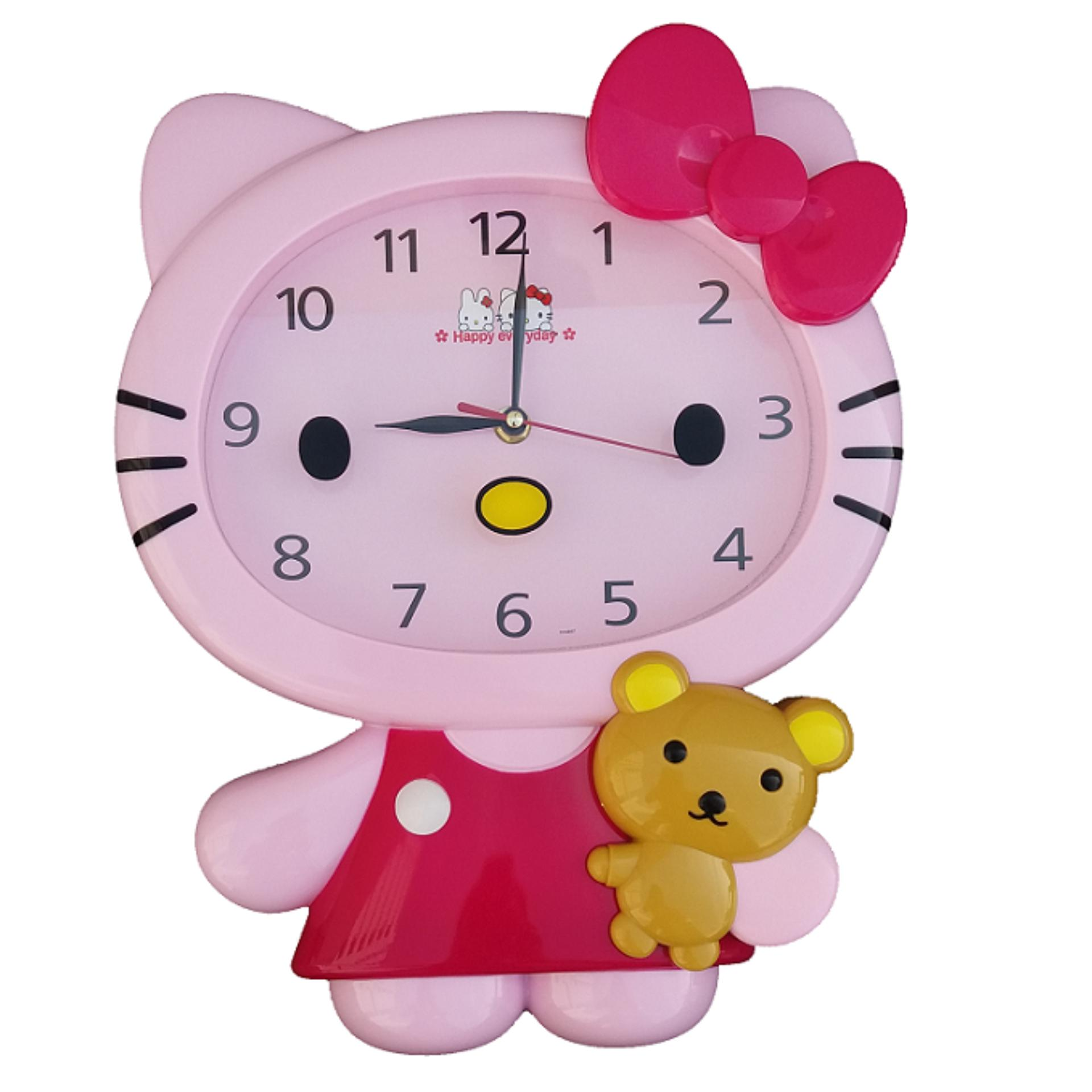 Hello Kitty karakter Jam Dinding HK-5157 9bb403a05f