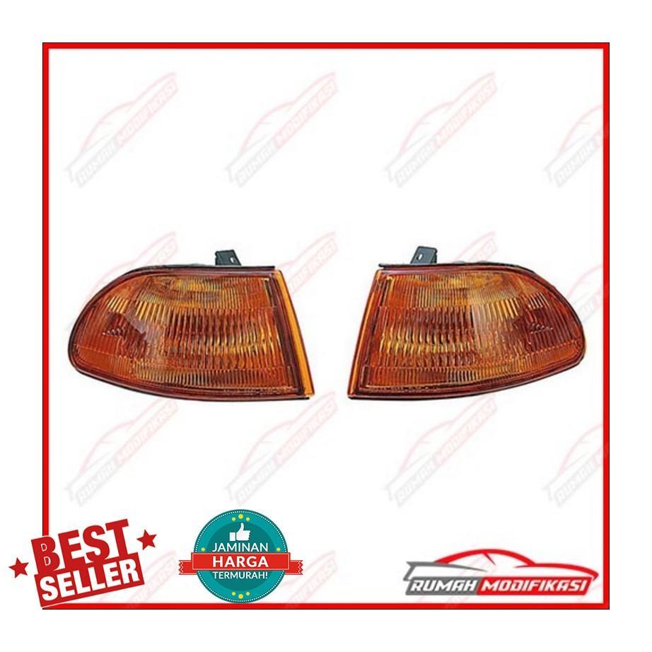 Harga Corner Lamp Honda Civic 92 Estilo Amber Usdm New Vario 110 Esp Cbs Iss Black Salatiga