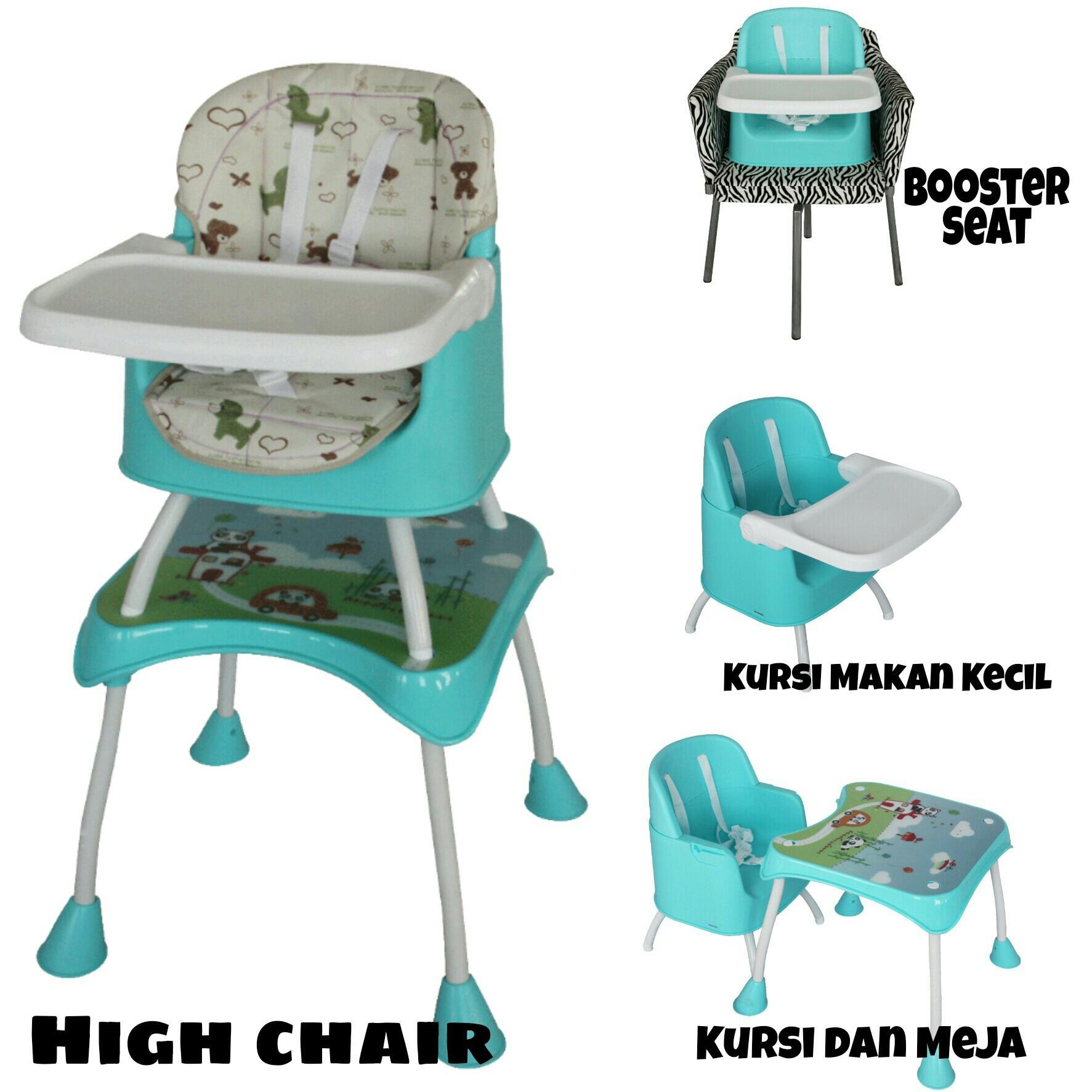 BabySafe High Chair & Booster Seat - Kursi Makan Bayi