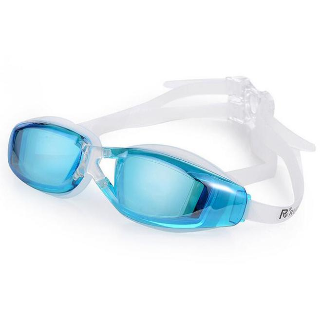 Rimas Kacamata Renang Anti Fog UV Protection Dewasa - Sky Blue