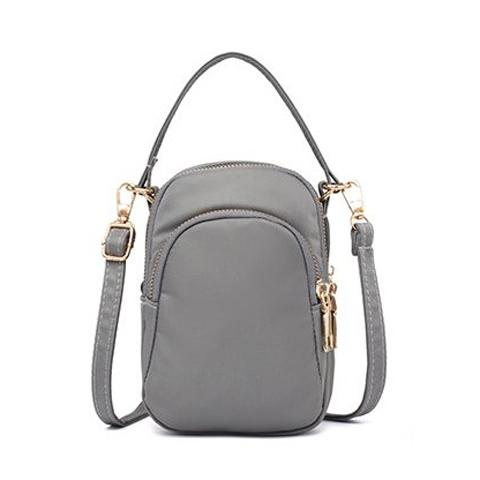 Mini tas ponsel perempuan model selempang tali bahu tunggal casual tas  kecil 2018 model baru All d679b16c66
