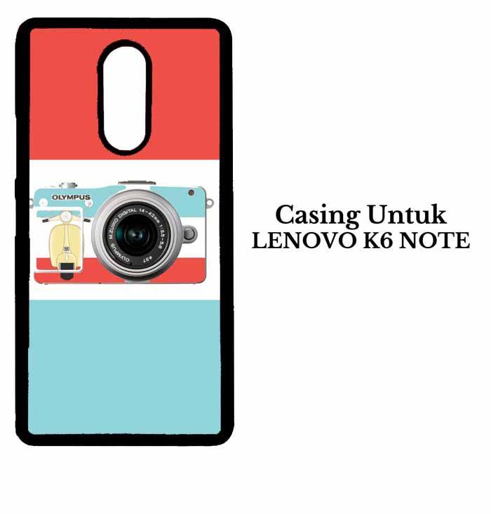 Casing LENOVO K6 NOTE i love my camera Hardcase Custom Case Se7enstores