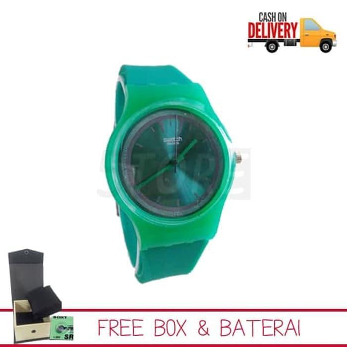 Jam tangan swatch 03 / jam tangan Strap Rubber