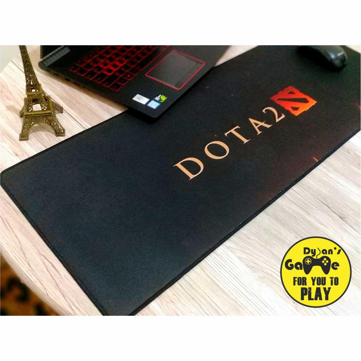 Mouse Pad / Mousepad Gaming Panjang Motif DOTA 2 (80 x 30 CM)
