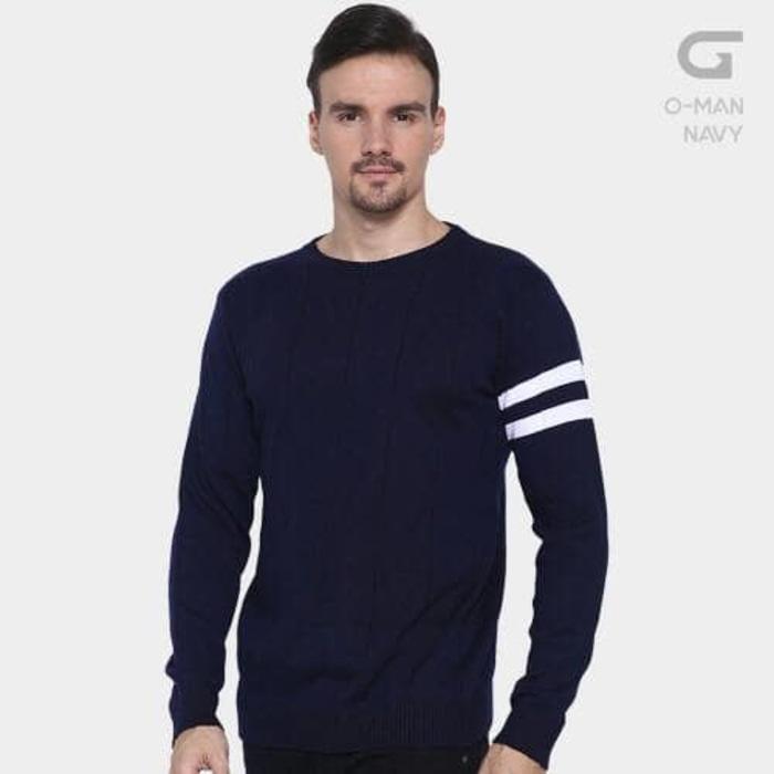 Jual Sweater Rajut Pria | O-Man Polos