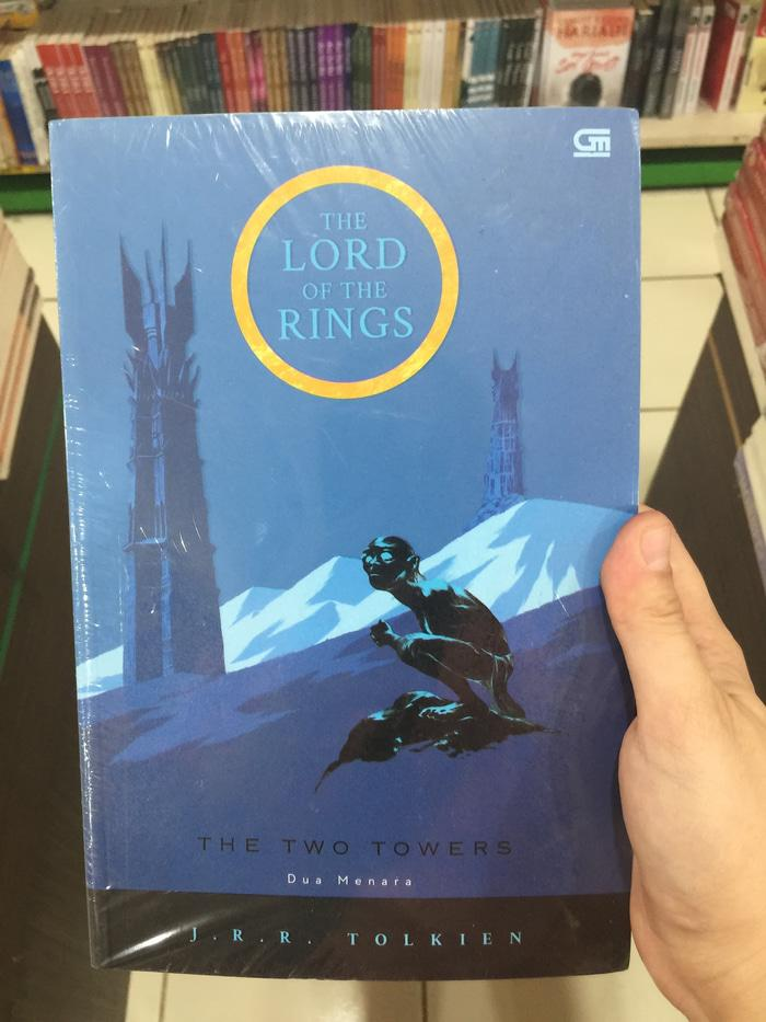 Novel J.r.r.tolkien; The Lord Of The Ring;edisi 1:the T By Blamosk Shop