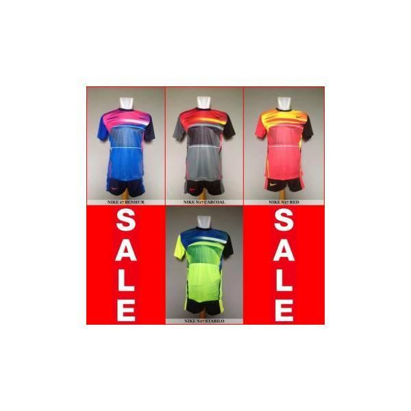 Setelan Futsal / Sepakbola Nike N17 (Baju Kaos Celana)