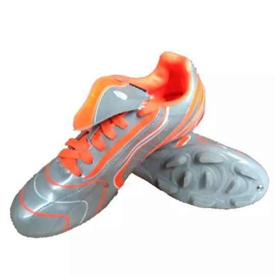 Kasogi Suarezz Jr Silver Orange - Sepatu Sepakbola - Sepatu Olahraga - Sepatu Laki Laki