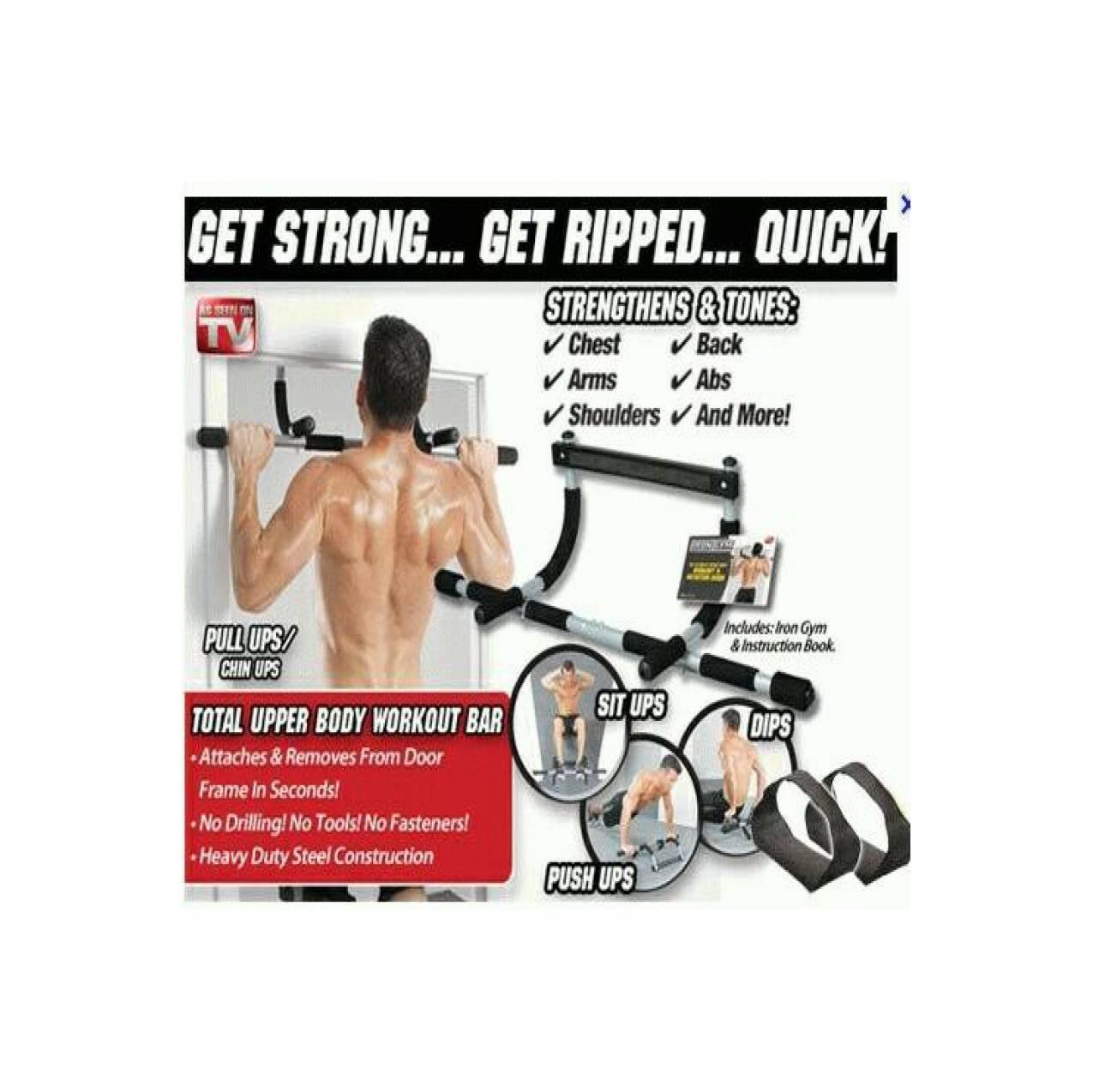 alat fitnes iron gym murah banyak manfaatnya