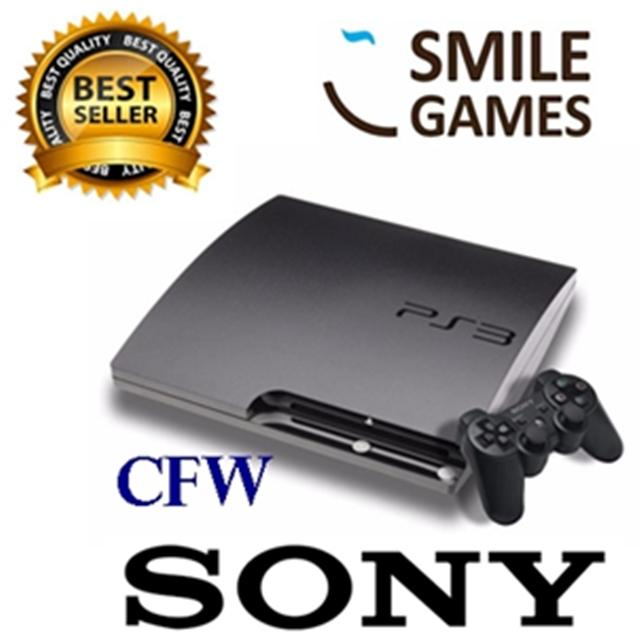 SONY PS3 SLIM HDD 160GB FULL GAME (BISA ISI ULANG)