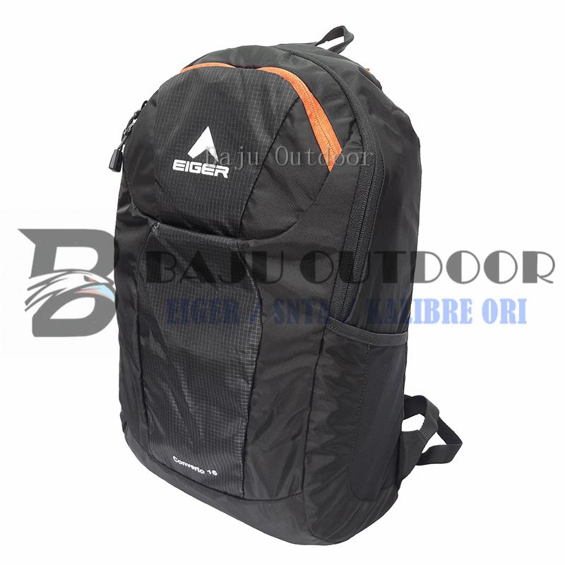 Tas Lipat Eiger 6283 Folded Daypack Converto 16 - Black
