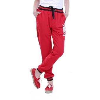 Cheapest Price HRCN Celana Jogger Wanita Merah - H 4007 sale - Hanya Rp135.903