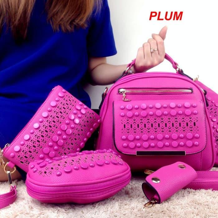 Produk Baru - Fashion Canberra Glamour Vn6363# Set 5 In 1 Semi Premium - ready