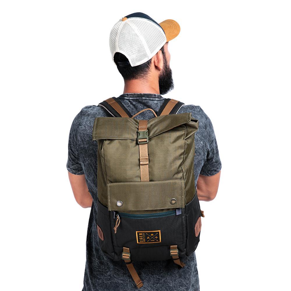 Eiger 1989 Roll Top Wanderdrift Laptop Backpack 25L