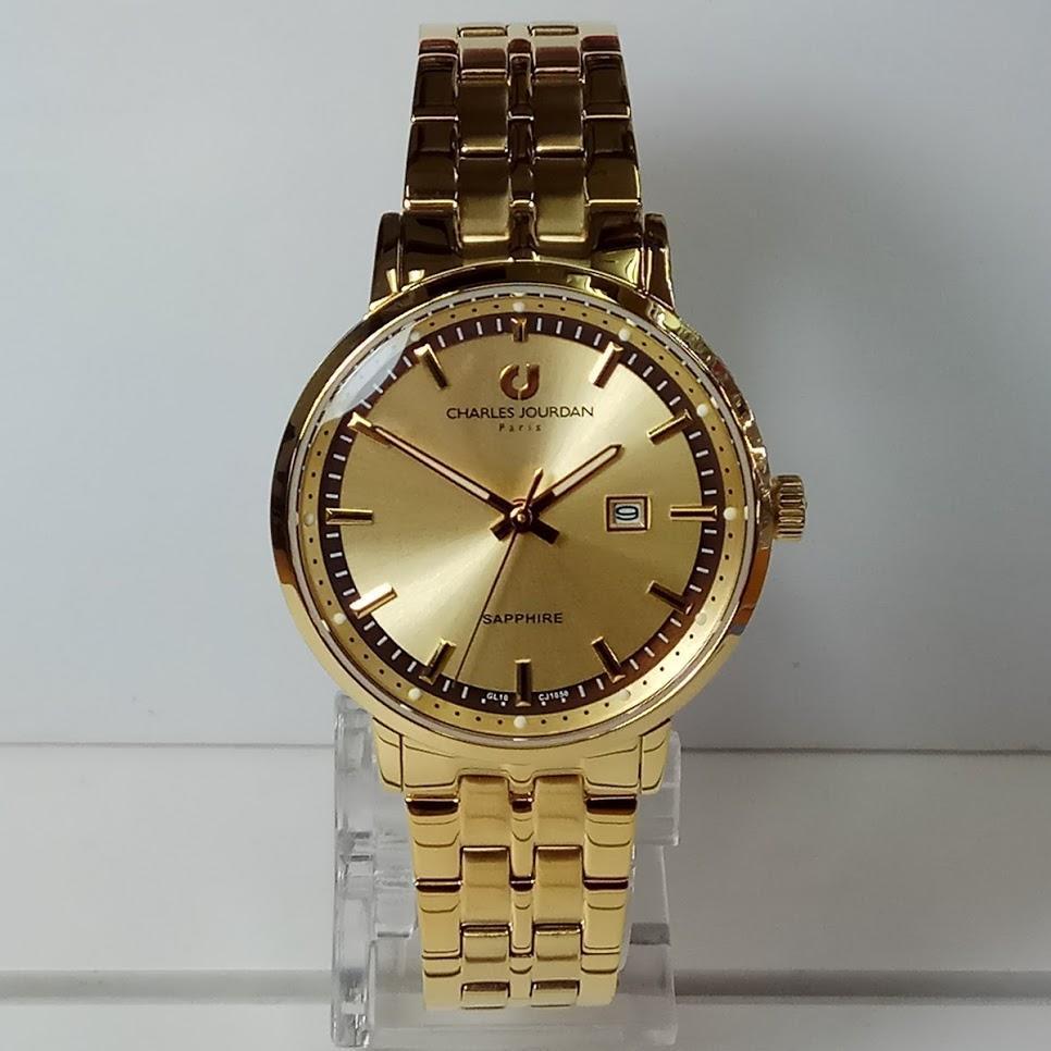 Charles Jourdan Cj1000 2222 Jam Tangan Wanita Gold Daftar Harga Cj1002 3572 Rose Original Cj1050 Sapphire Stainless Steel