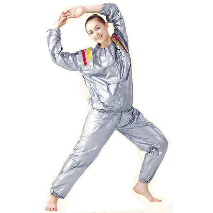 HARGA SPESIAL!!! Jaket sauna olahraga murah jogging untuk lari multifungsi sehat bagus - lqQEtu